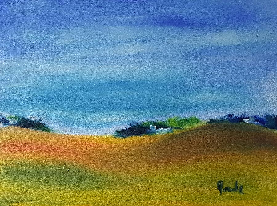 Farm Painting - Farms And Rolling Hills  by Steve Jorde
