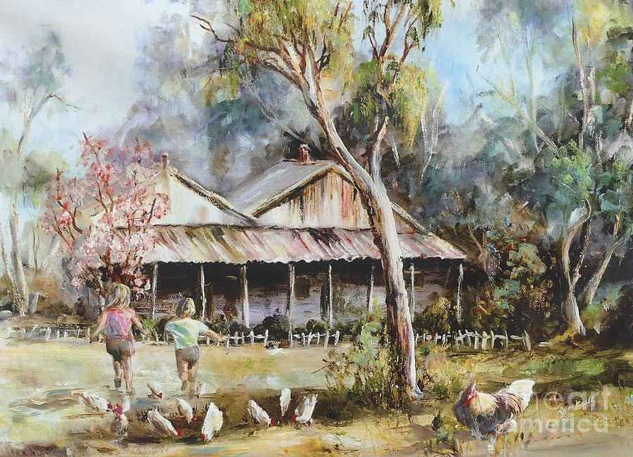 Farmyard Grampians by Ryn Shell