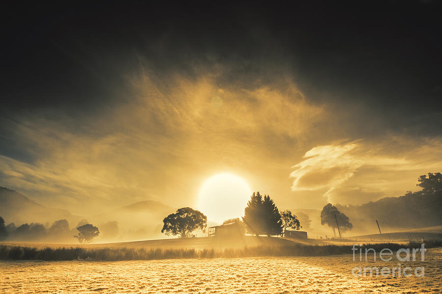 Farmyards and silhouettes by Jorgo Photography - Wall Art Gallery