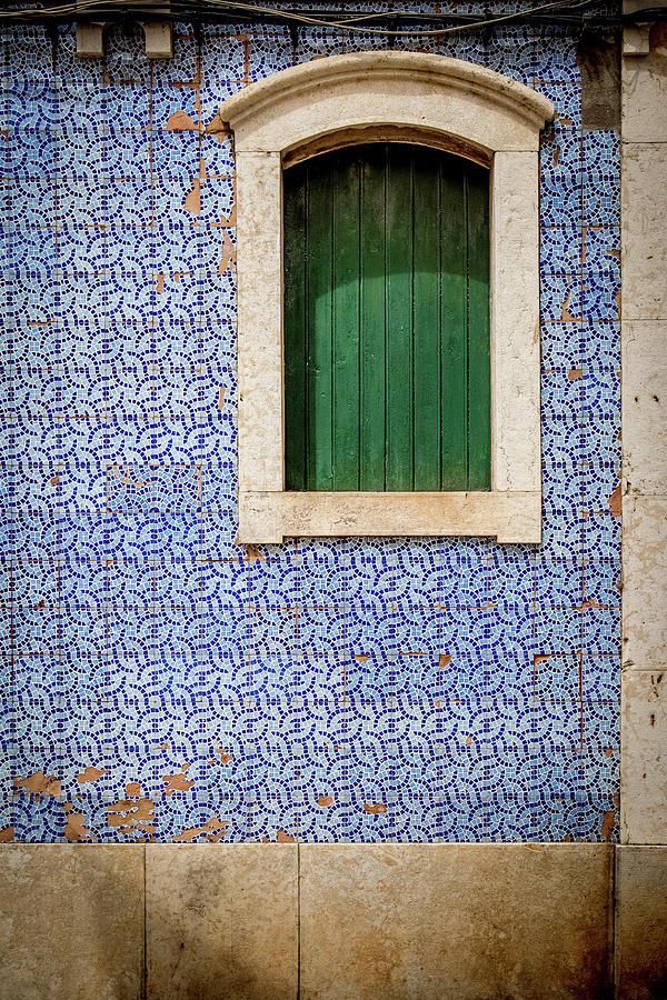 Faro Blue Tiles Photograph