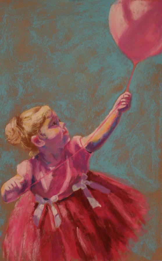 Children Pastel - Fascination by Sarah Bernhardt