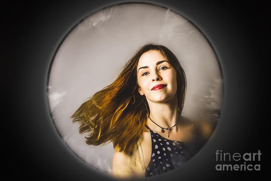 Salon Photograph - Fashion and makeup woman at beauty salon store by Jorgo Photography - Wall Art Gallery