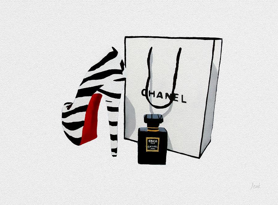 Fashion Mixed Media - Fashion Noir by My Inspiration