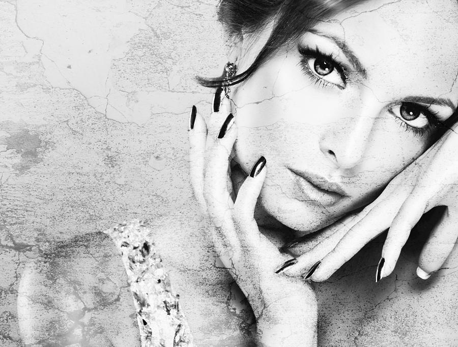 Fashion Photograph - Fashion Woman by Miguel Lopez