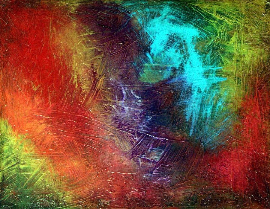 Abstract Painting - Fashionista by Laura Barbosa