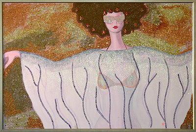 Fashions Painting by Diana Condurache