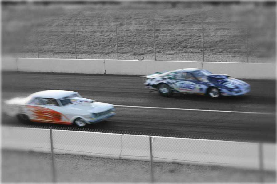 Racecars Photograph - Fast by Cassidy Haas