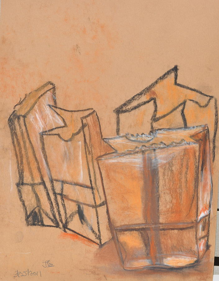 Fast Paper Bags Pastel by Jonathan Galente