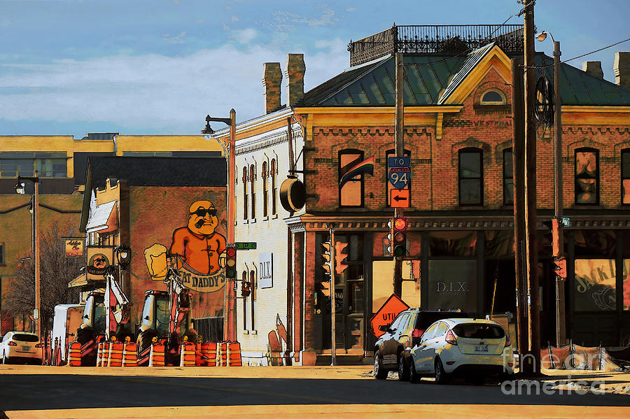 Milwaukee Digital Art - Fat Daddys by David Blank
