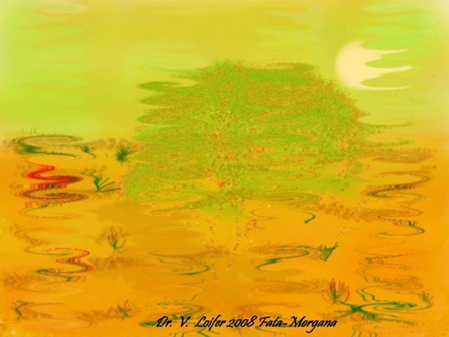 Illusions Digital Art - Fata-morgana by Dr Loifer Vladimir
