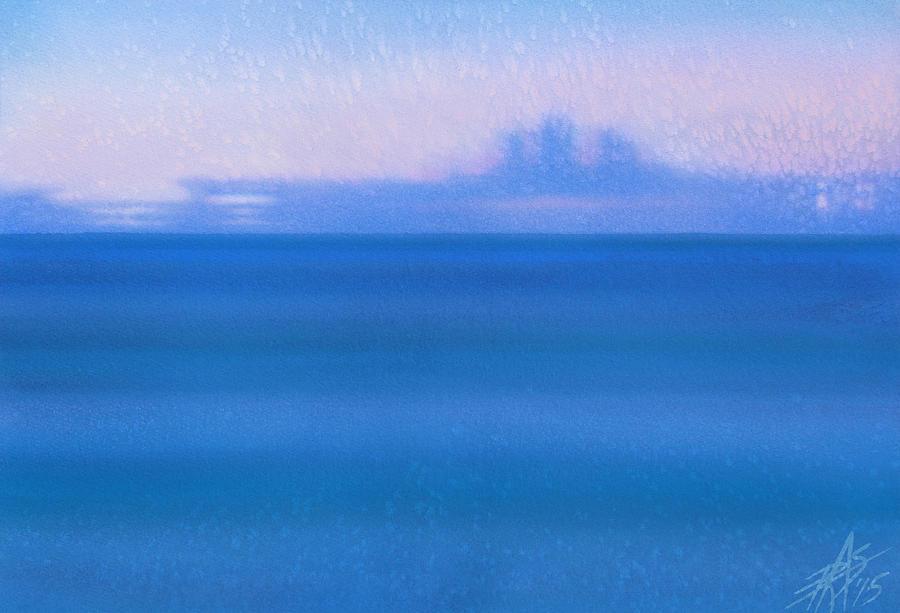 Landscape Painting - Fata Morgana I by Robin Street-Morris