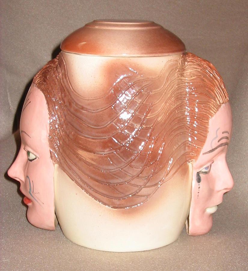 Faternal Twin Jar Sculpture by Abbe Gore