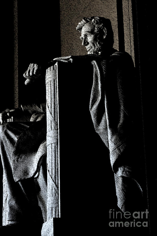 Abraham Lincoln Photograph - Father Abraham by David Bearden