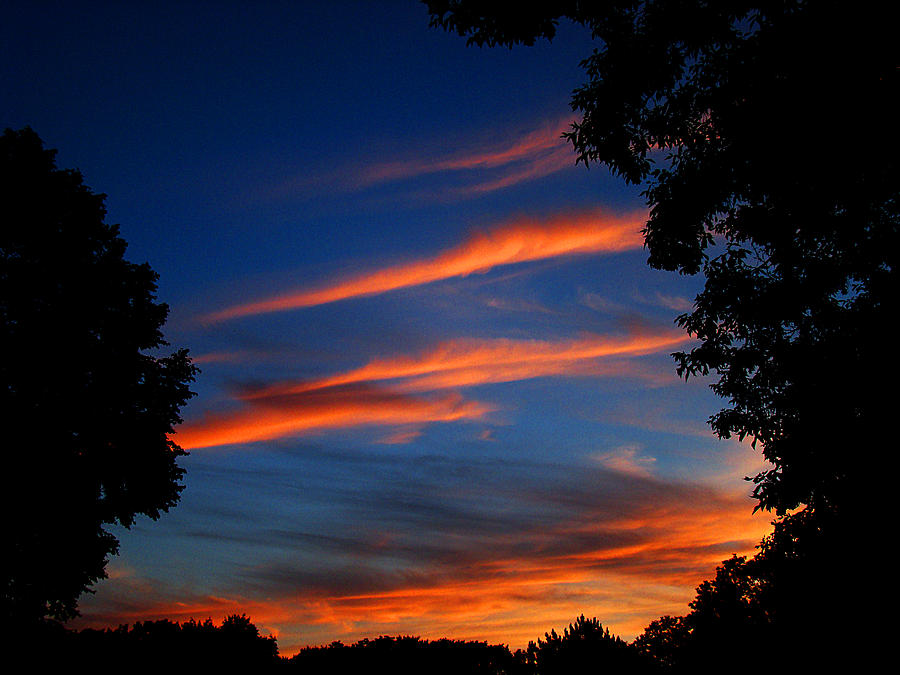 Sunset Photograph - Fathers Day Sunset by Todd Zabel