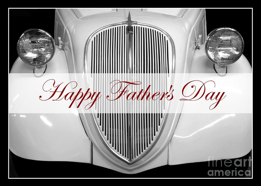 Father's Day Vintage Auto by Patricia Strand