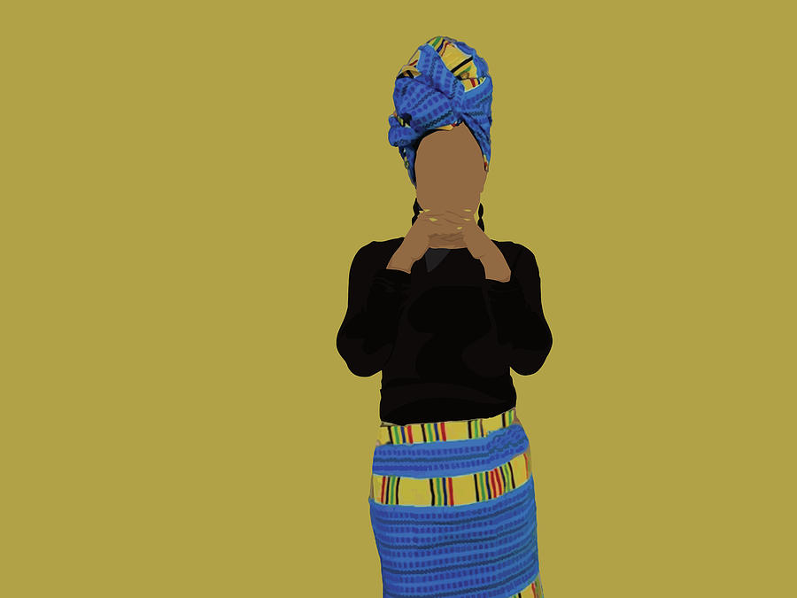 Muslim Digital Art - Fatu by Scheme Of Things