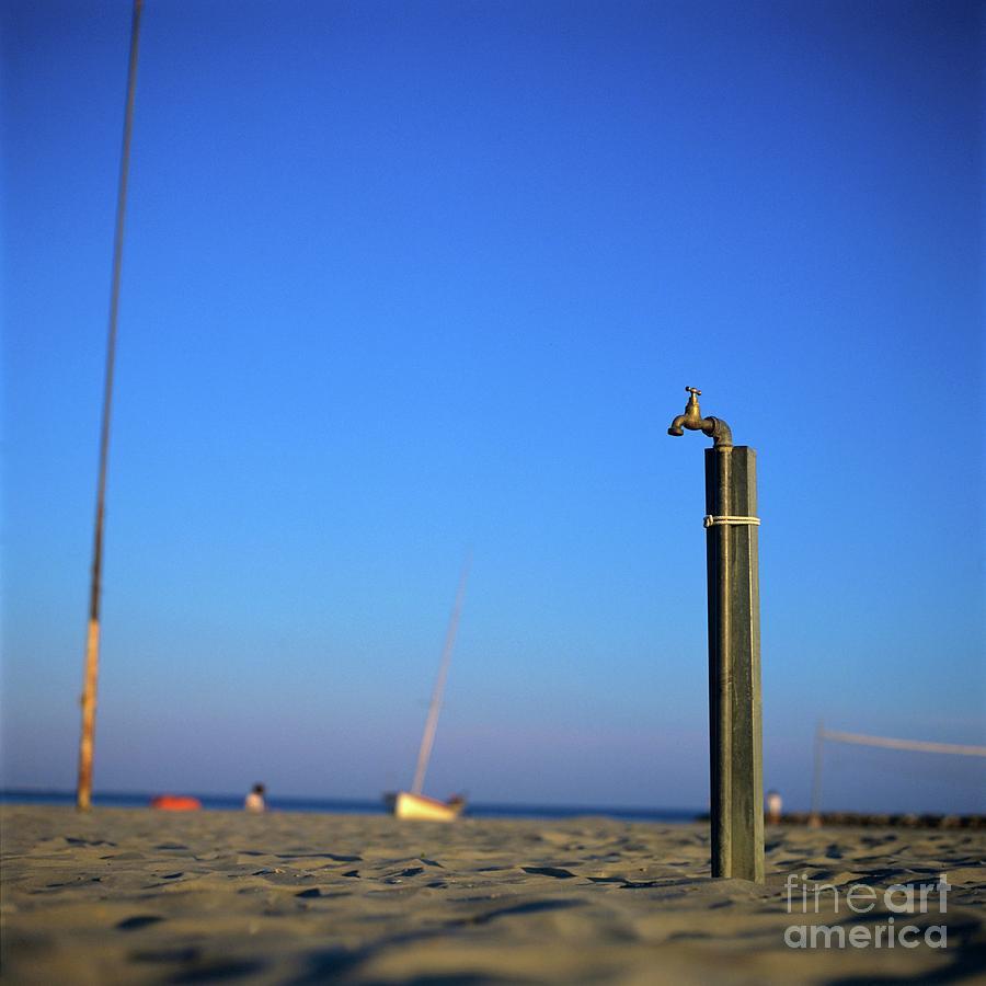 Beach Photograph - Faucet by Bernard Jaubert