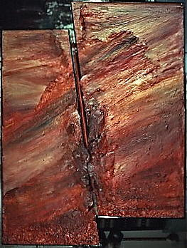 Fault Line Mixed Media by Michael Ryan