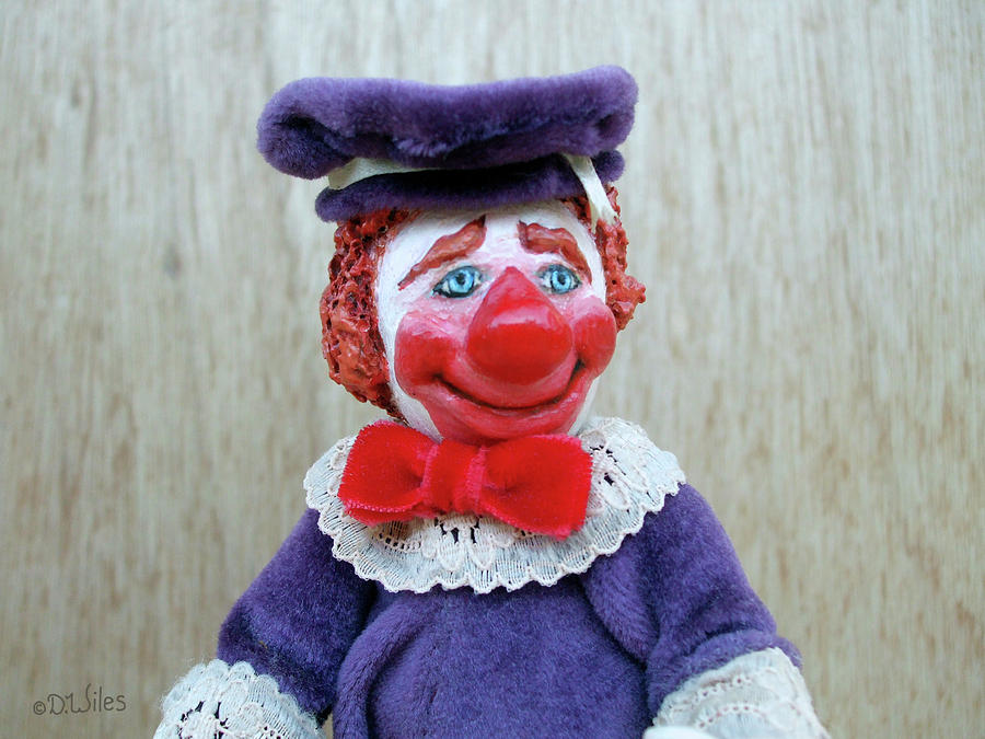 Clown Sculpture - Fauntleroy 2 by David Wiles