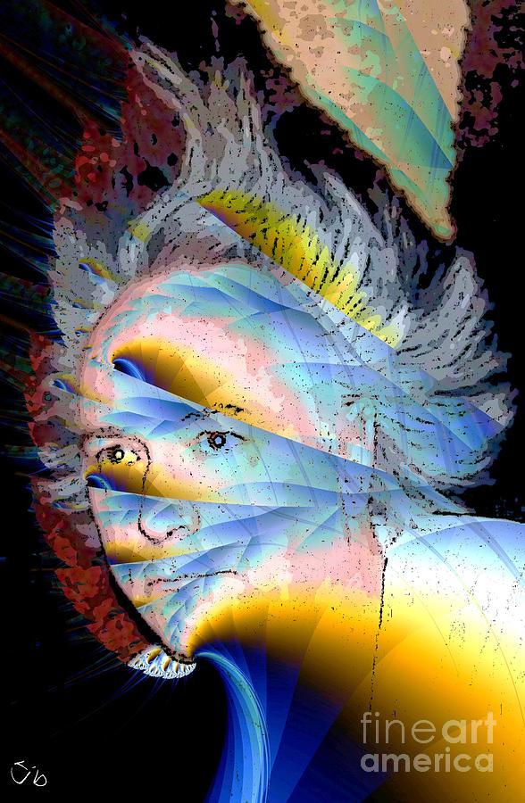 Faun Digital Art - Faunus by Ron Bissett