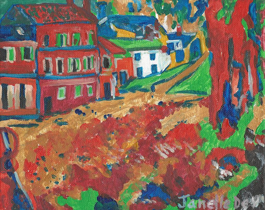 Acrylic Painting Painting - Fauvism by Janelle Dey