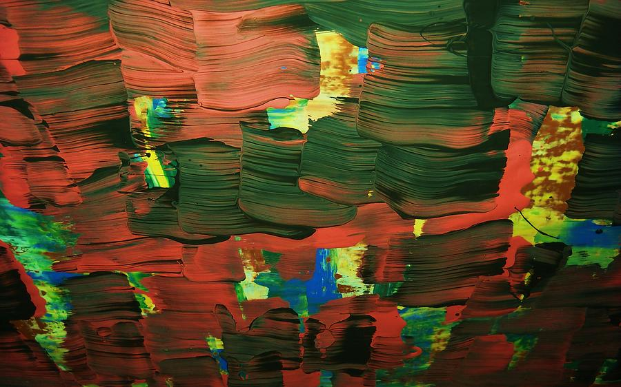 ..favella.-series.... Painting by Adolfo hector Penas alvarado