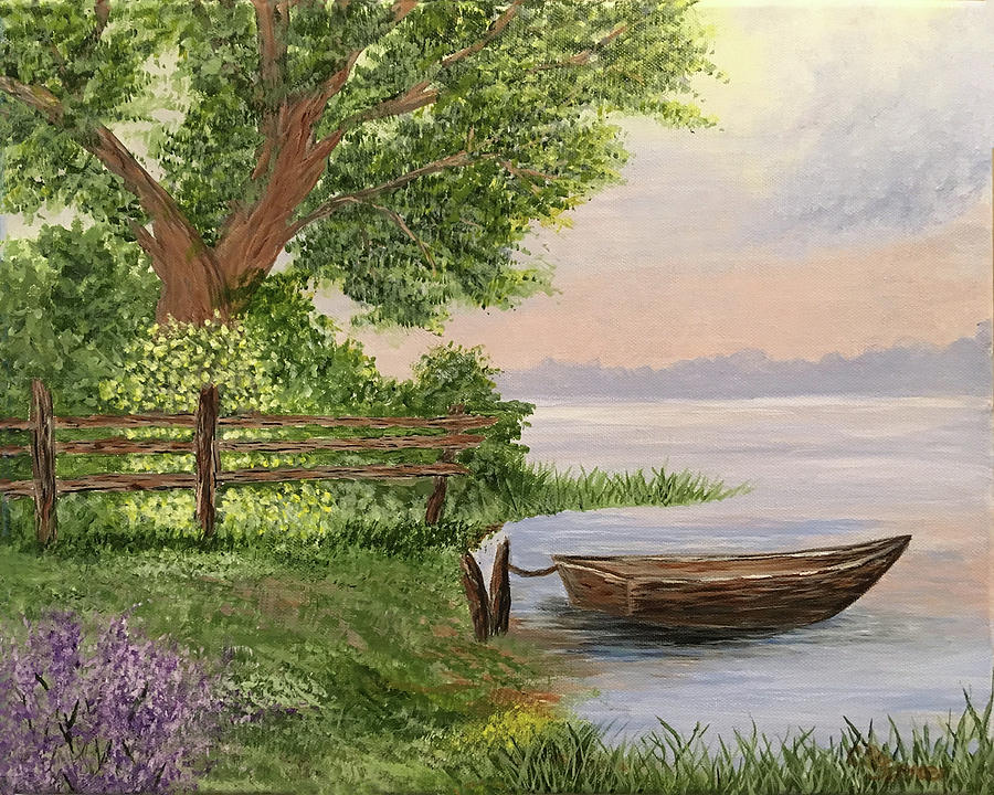 Favorite Fishing Spot by Connie Spencer