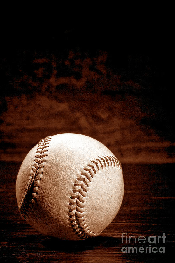 Baseball Photograph - Favorite Pastime  by Olivier Le Queinec