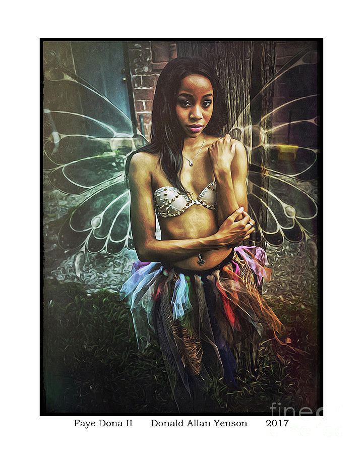 Fairy Photograph - Faye Dona II by Donald Yenson