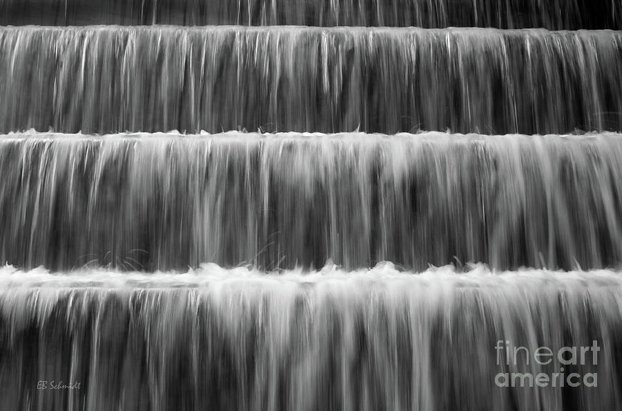 Washington Dc Photograph - Fdr Memorial Waterfall by E B Schmidt