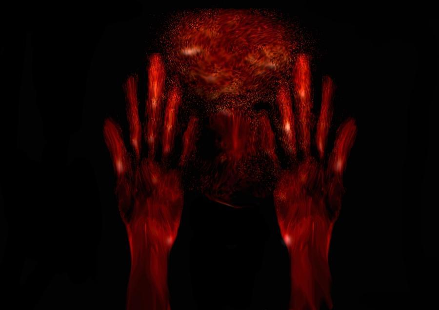 Fear Digital Art by Marcelo Macedo Flores Macedo