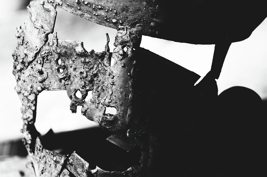 Ancient Photograph - Fear Me V2 by Sotiris Filippou