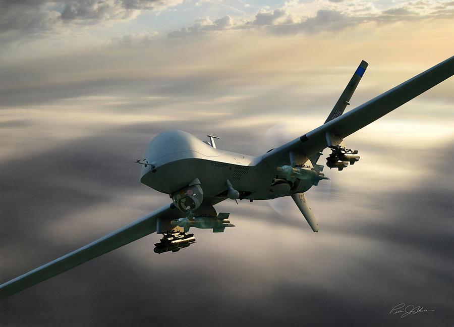 Aviation Digital Art - Fear The Reaper by Peter Chilelli