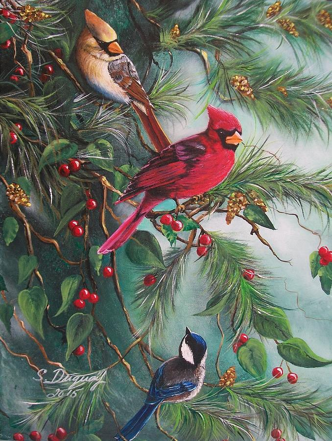 Feathered Friends Painting