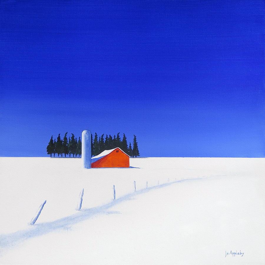 February Fields by Jo Appleby