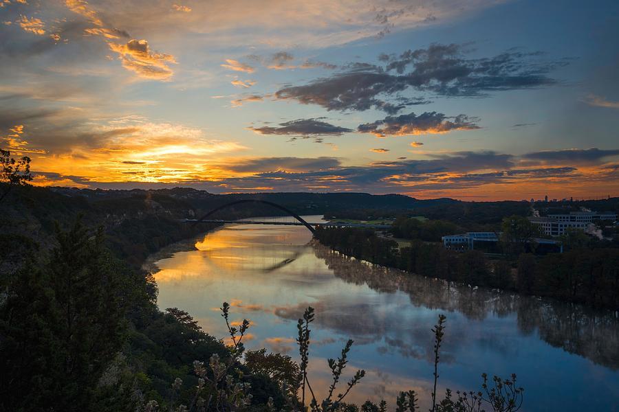 February Sunrise by Jay Anne Boza