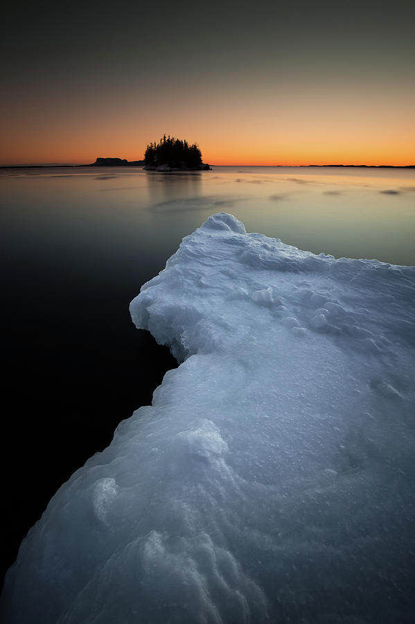 Bay Photograph - February Thaw  by Jakub Sisak
