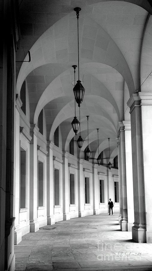 Washington Dc Photograph - Federal Triangle by E B Schmidt
