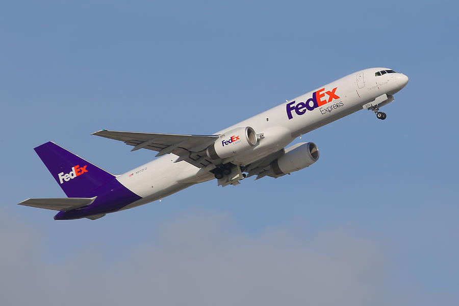 FedEx Jet Photograph by Dart and Suze Humeston