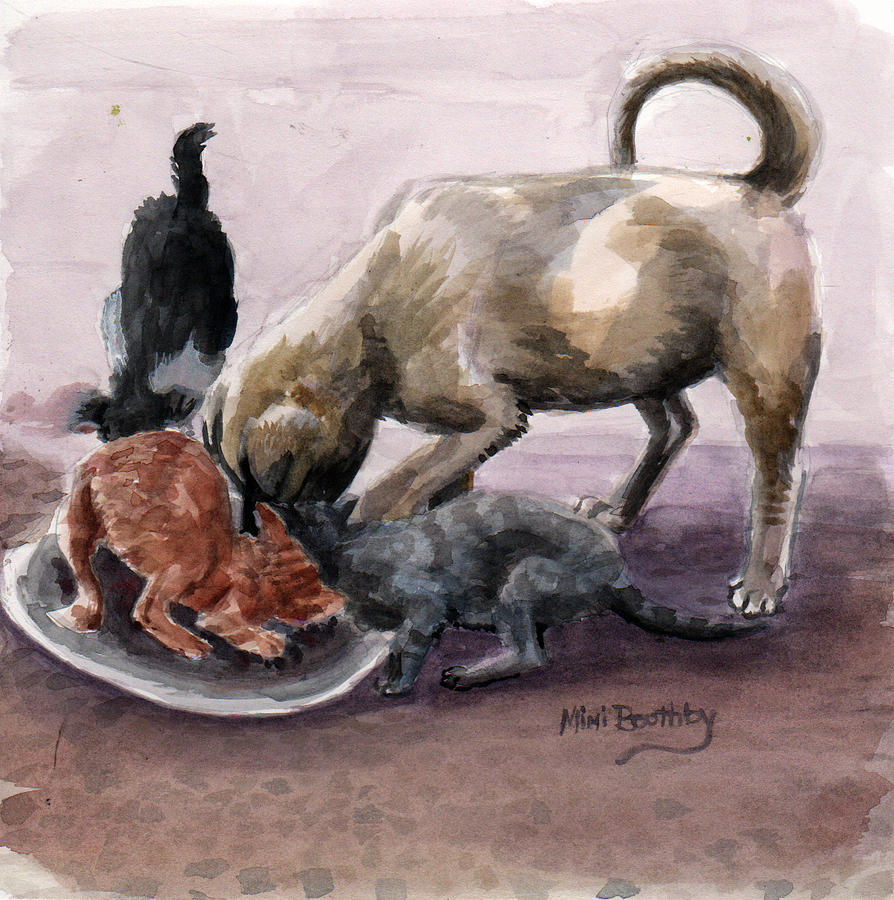 feeding time by Mimi Boothby
