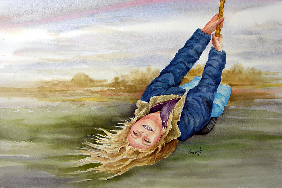 Seing Painting - Feelin The Wind by Sam Sidders