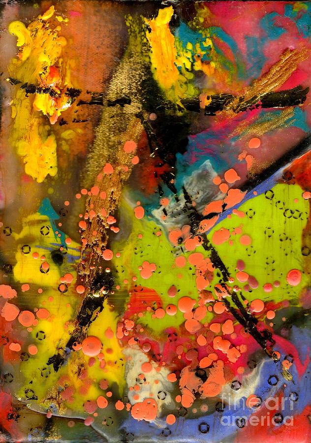 Gretting Cards Mixed Media - Feeling Free by Angela L Walker