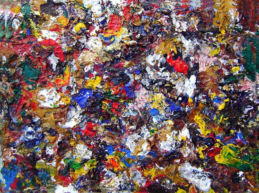 Abstract Painting - Feeling Good by Leonardo Ruggieri