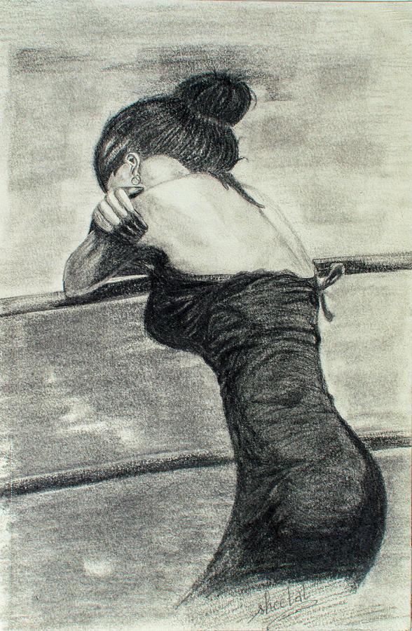 Feeling Lonely Drawing By Sheetal Jain-4734