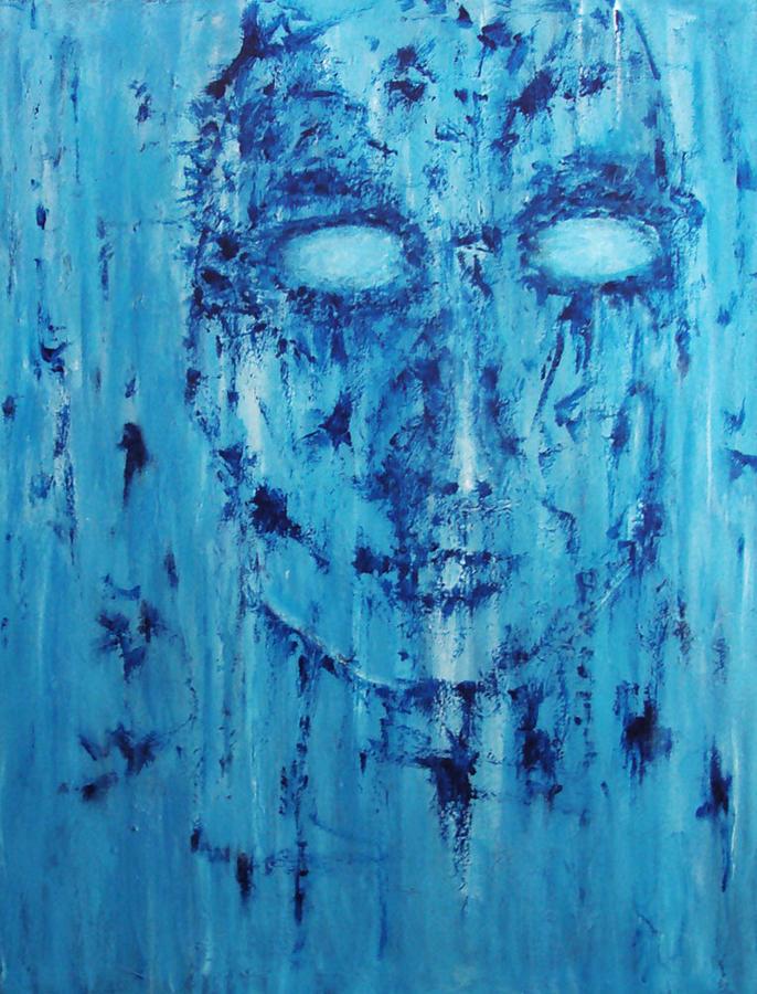 Feeling Of Emptiness Painting By Katerina Apostolakou