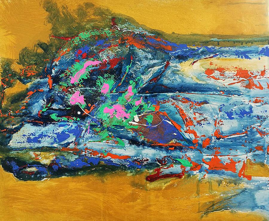 Original Painting - Feeling Of Summer by Yueer Xu