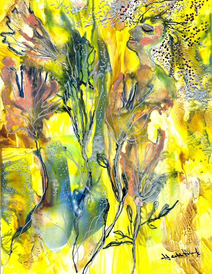 Healing Painting - Feeling Of The Heart by Heather Hennick