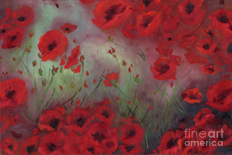 Feeling Poppy by Stephanie Broker