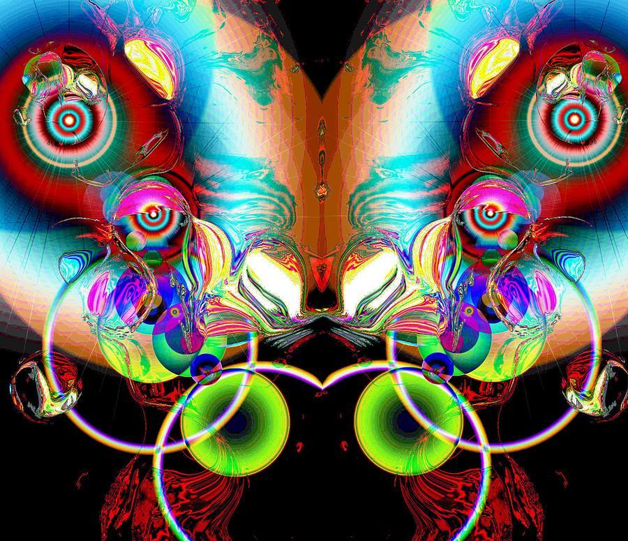 Spiritual Digital Art - Feeling by Toomas Altnurme