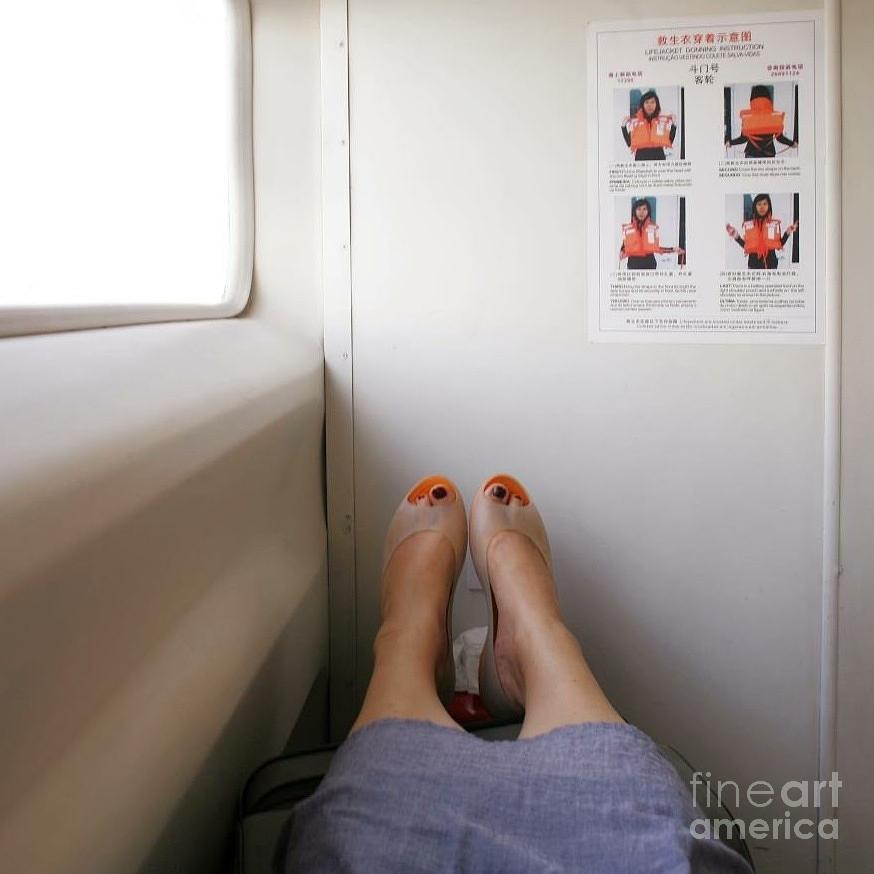 Feet Photograph - Feet Around The World #14 by Edit Kalman